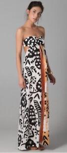 Diane von Furstenberg DvF Krystle Dress - Small, Orange
