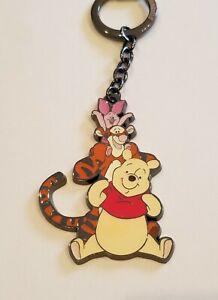 Loungefly Disney Winnie the Pooh Tigger Piglet Friends Keychain NEW