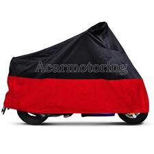 XXL Motorcycle Rain Cover For Harley Davidson Softail Custom FXSTC Fatboy FLSTF