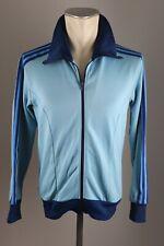 adidas vintage Herren 80er 80s Jacke Track Jacket blau Trainingsjacke Gr D 4 AJ6