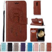 Luxury Flip PU Leather Wallet With Strap Card Stand Cover Case For ZTE Axon 7