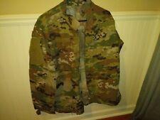 US Army Combat Uniform Jacket Blouse Medium Long,Team Certified Gear Camouflage.