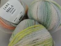 (139 €/kg): 300 g MILA COLOR, Lang Yarns, Fb.9670051 bunte Pastelltöne #2762