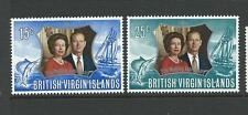 1972 The 25th Wedding Anniversary of Queen Elizabeth II  set of 2 MUH/MNH