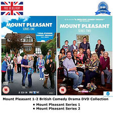 Mount Pleasant Series 1 - 2 British Comedy Drama Complete Collection UK R2 DVD