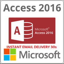 MS Access 2016 Professional License Key 32/64 bit 01 PC INSTANT EMAIL DELIVERY