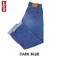 Vaqueros de mujer Levi's color principal azul 100% algodón