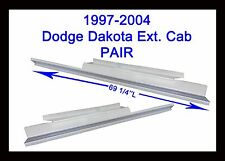 1997 1998 1999 2000-2004 Dodge Dakota Extended Cab 2Door Rocker Panel New Pair