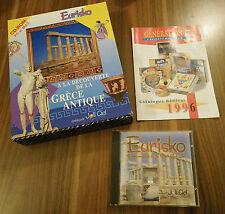 A LA DECOUVERTE DE LA GRECE ANTIQUE - Encyclopédie Multimédia EURISKO - PC-MAC