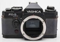 Yashica FX-D Quartz FXD FX D Body analoge Spiegelreflexkamera Gehäuse