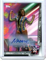 WWE Naomi 2018 Topps Women's Division Authentic Autograph Card SN 111 of 199