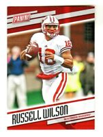 2018 Panini Father's Day #44 RUSSELL WILSON Seattle Seahawks Wisconsin Badgers