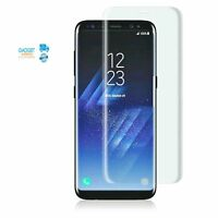 3D Curved Tempered Glass Screen Protector For Samsung S8 Plus Note 8 S7 Edge