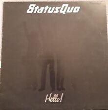 Status Quo Hello! Vinyl LP