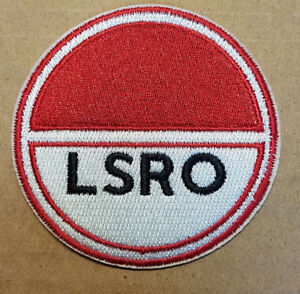 Space 1999 LSRO Jacket Patch 3 inches tall patch