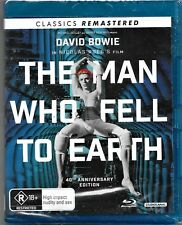 The Man Who Fell To Earth (Blu-ray, 2017)New (David Bowie) Region B Free Post