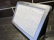 Black PU Leather Carry Case/Stand/Holder for Acer Iconia Tab A200 Tablet PC