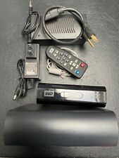 Western Digital WD TV 1080p HD Media Player WD00AVN-00 and/or WD My Book HDD