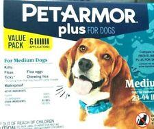 PETARMOR Plus FLEA and Tick Prevention for MEDIUM DOGS (6 MONTHS ) VALUE PACK