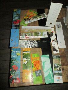 Marque pages collectors-Lot de 16-Nature,animaux,parc,agriculture...
