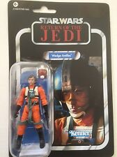 Star Wars Action Figure of WEDGE ANTILLES (VC 28) on Vintage Card 3.75""