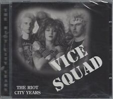 VICE SQUAD - THE RIOT CITY YEARS - (still sealed cd) - STEP CD 157