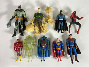 Bulk Lot - Collectable Super Heroes Action Figures, MARVEL & DC - Avengers etc