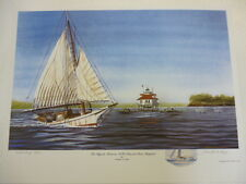 Skipjack Albatross Patuxent River Maryland Artist Proof #16/75 by Franklin Saye