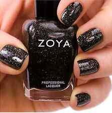 ZOYA ZP645 STORM holiday black glitter nail polish lacquer~ FESTIVE FAVORITES
