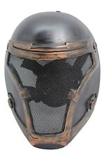 Paintball BB Gun Airsoft Full Face Protection Magistrate Mask Prop Cosplay 730