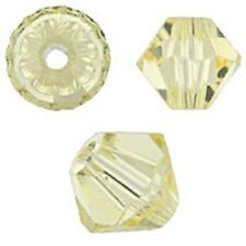 Swarovski Crystal Bicone Jonquil Color. 6mm. Approx. 48 PCS. 5328