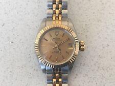 Rolex Tudor OYSTERDATE 92313 14K GOLD & INOX WOMEN'S WATCH 1995