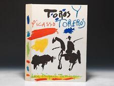 """LIVRE PICASSO """" TOROS Y TOREROS """" / LITHOGRAPHIES ART MODERNE"""