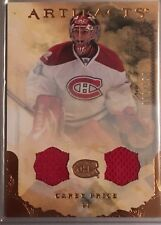 Carey Price 2010-11 Artifacts Dual Jersey Montreal Canadians /150