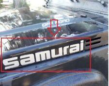 2x Sticker for SUZUKI Jimny 4x4 samurai Off - road upgrade front hood  Maruti