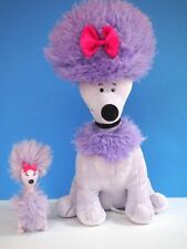 """Cleo, Kohl's Plush 11 Inch Purple, Lavender Poodle with Bonus Little Cleo From"