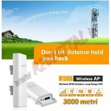RICEVITORE RANGE EXTENDER TENDA 1500 O3 ANTENNA WIRELESS INTERNET LUNGA DISTANZA