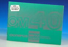 Olympus OM 40 PROGRAM Gebrauchsanleitung german manual - (101657)