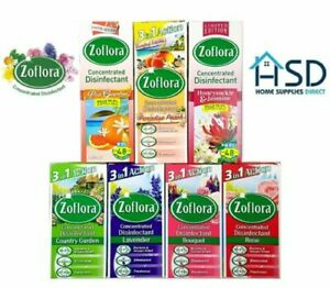 Zoflora Concentrated Anti Bacterial Disinfectant Spray Cleaning Freshness Scent