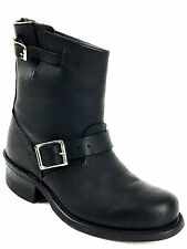 Frye Engineer 12R Short Blk Ankle Boot Wns Size US.7. UK.5 EU. 37-38- 890