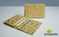 Cork Name Cards Holder Handmade Eco-Friendly & Sustainable Material by EcoQuote