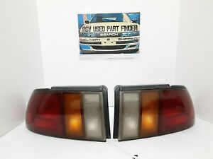 1991-1992 Isuzu Stylus Tail lights Oem used (pair)