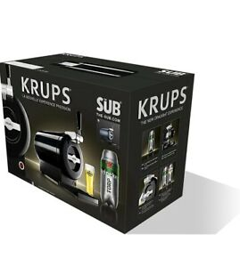 Krups The Sub Blue Edition full size Beer Dispenser tap, Draught beer at home