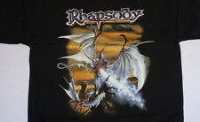 Rhapsody - Power Of The Dragonflame T-Shirt XL Official Bandshirt