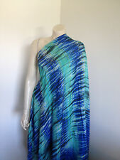 Pure 100% Silk BoHo Festival Fabric Tie Dye Seconds