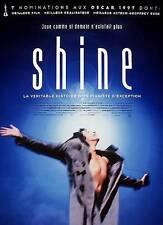 "Affiche 120 x 160 du film ""SHINE"" de Scott Hicks ."