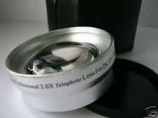 SL 49mm 2.0X Tele-Photo Lens For Sony NEX-C3 NEX-5N NEX-3 NEX-5 NEX-7 Camera