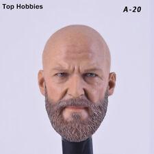 1/6Male HeadSculpt Custom Bearded Headplay Jeff BridgesMu Fit12''Figure Hot Toys