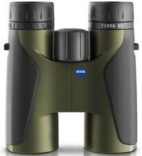 Zeiss 8 x 42 terra ed binocolo-Verde/Nero 2017 Nuovo Modello (UK stock) nuovo con scatola