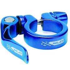 XLC QR Quick Release Seat Post Clamp Seatclamp Mountain Bike MTB 31.8mm Blue